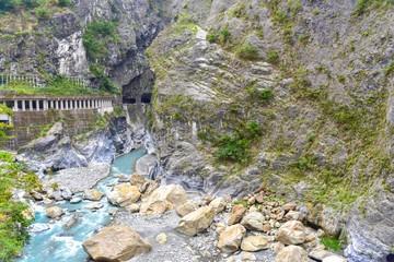 Breathtaking Nature Scenery of Taroko Gorge in Taroko National Park