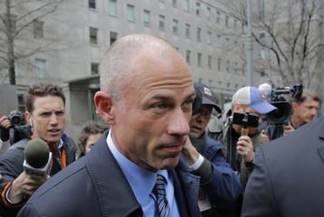 Stormy Daniels' attorney Michael Avenatti leaves federal court in Manhattan