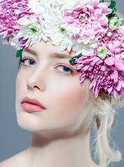 beautiful spring girl