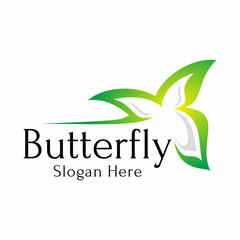 Butterfly Logo Vector Silhouette