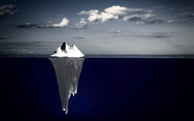 Eisberg / Seitenansicht