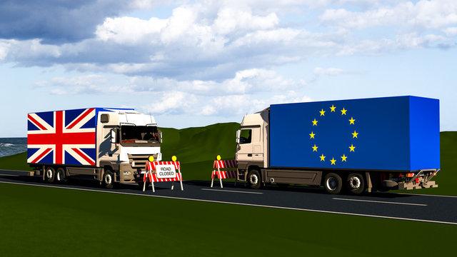 EU internal market according to Brexit / Concept
