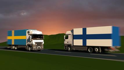 Trade between sweden and finland European internal market