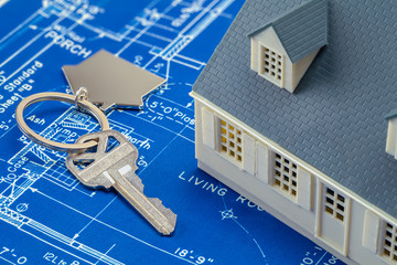 House Blueprints and Keys