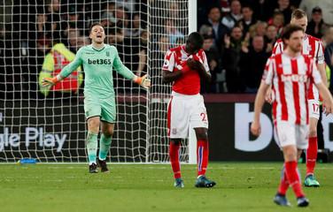 Premier League - West Ham United vs Stoke City