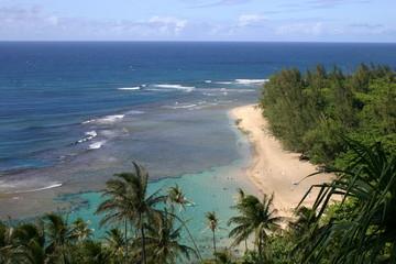 Bali Hai Beach in Kauai, Hawaii