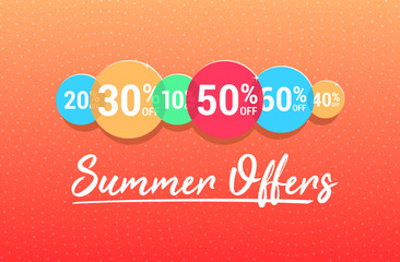 Summer Offers % Off Commercial Advertisement