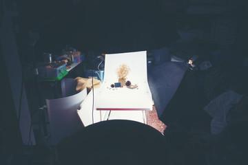 mini home studio for photographer