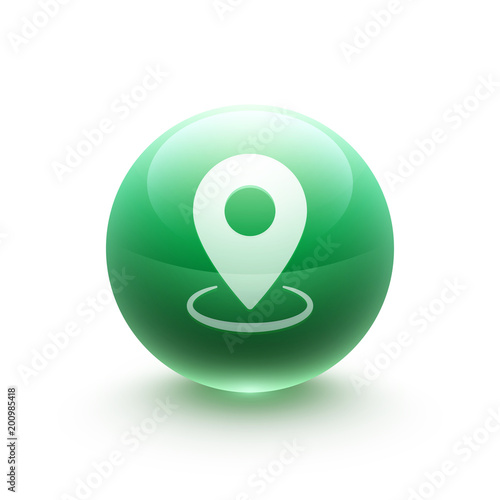 "Icone Localisation icône web localisation"" stock image and royalty-free vector files on"