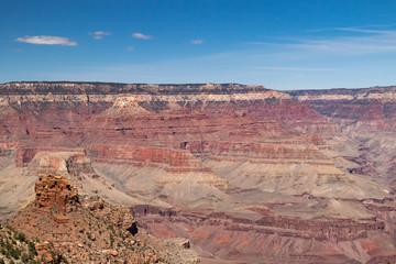 View from Bright Angel Trail at Grand Canyon National Park, Arizona, USA