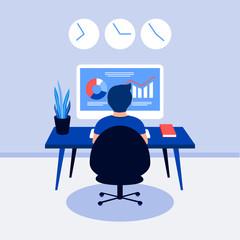 4066710 Data analysis design concept.