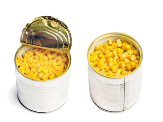 can with cooked corn