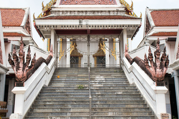 An old traditional Thai temple.