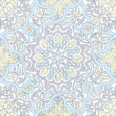 Arabic motifs seamless