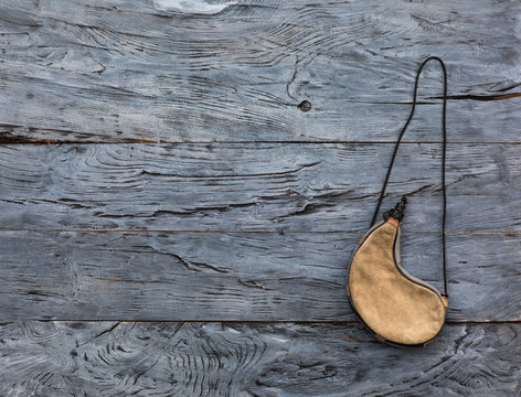 leather wineskins for water
