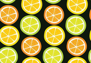 Citrus vector pattern