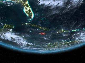 Jamaica at night
