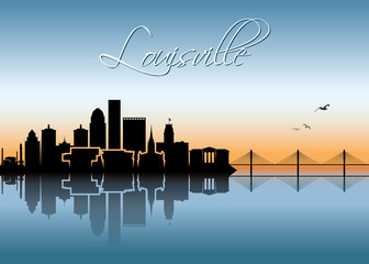 Louisville skyline - Kentucky