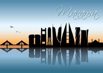 Manama skyline - Bahrain
