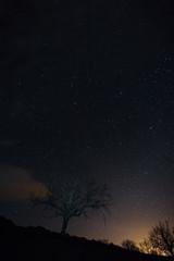 Night photography near Cabezabellosa. Extremadura. Spain.