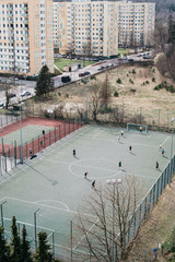 sports fields in the city
