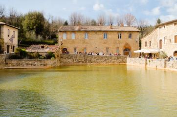Ancient baths of Bagno Vignoni