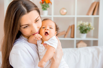 Newborn infant baby