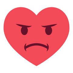Herz Emoji beleidigt
