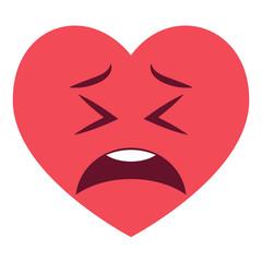 Herz Emoji zweifelnd