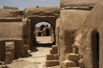 Troglodites houses