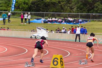女子200メートル競走5
