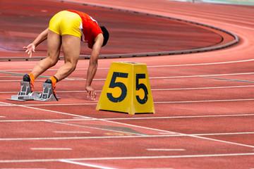 女子200メートル競走6