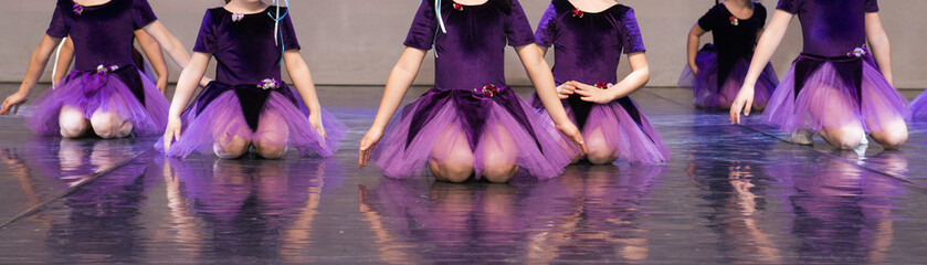 Children's dances, performance