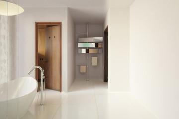 Modernes Badezimmer (Vision)
