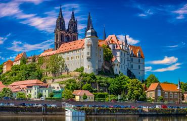 castle in Meissen, Saxony, Germany