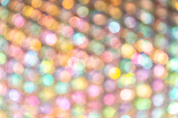 circle soft colorful Bokeh light abstract background