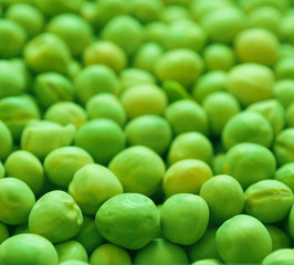 Texture background of peas