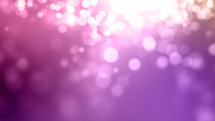 3D rendering light blur of light spots for the background. Abstract Bokeh Lights Background