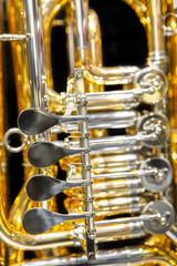 tuba, rotary valves