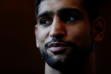 Amir Khan & Phil Lo Greco Public Work-Outs