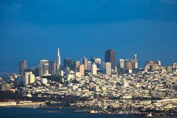 Northern Neighborhoods overview, San Francisco, California, USA