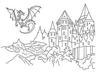 Замок и дракон