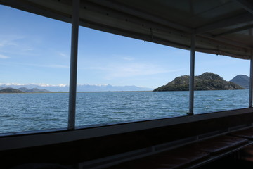 Sea from boat