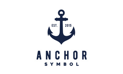 Vintage Anchor logo design inspiration