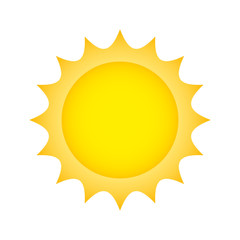sun climate summer isolated icon vector illustration design