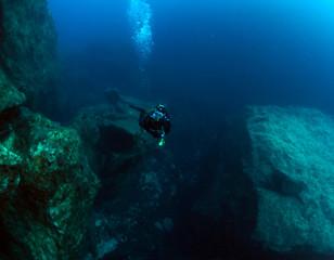 Scuba Diving Malta - Dwejra - Gozo - Azure Reef