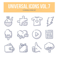Universal Doodle Icons vol.7