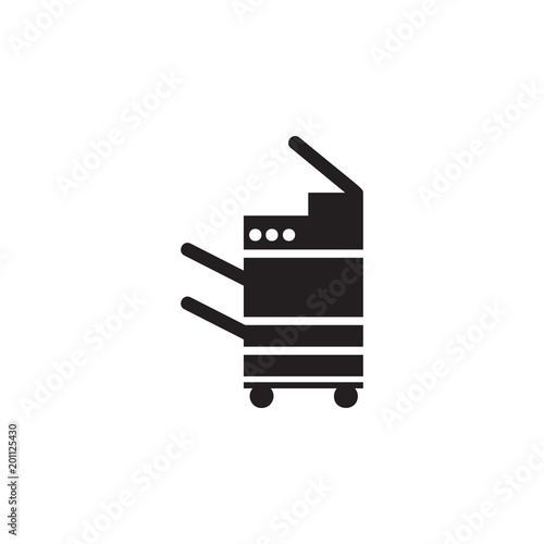 Laser Printer Icon Element Of Printing House Illustration Premium