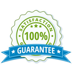 100% Satisfaction Guaranteed illustration