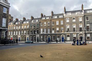 London, UK, 31 October 2012: Buildings